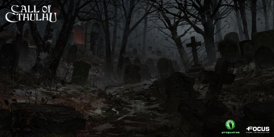 CallOfCthulhu на кладбище