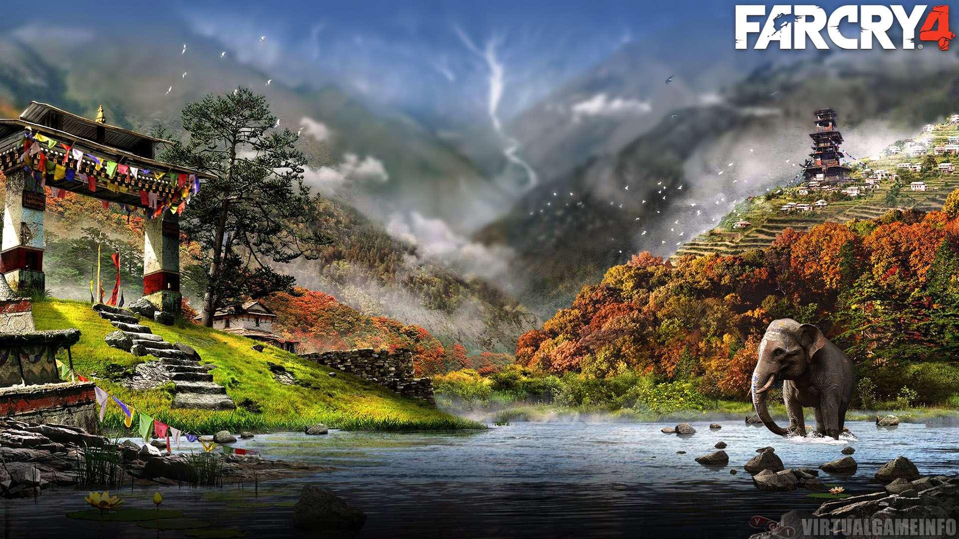 Ubisoft заявила, что шутер Far Cry 4 полностью готов к началу продаж