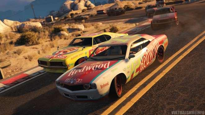 GTA 5 гоночная машина Go Go Monkey Blista