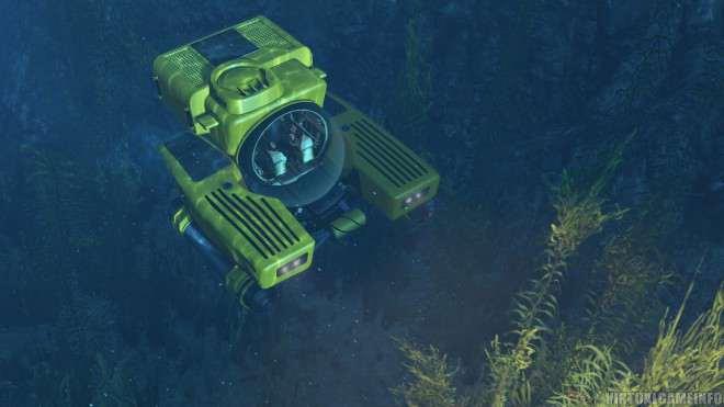 GTA 5 субмарина Kraken Sub