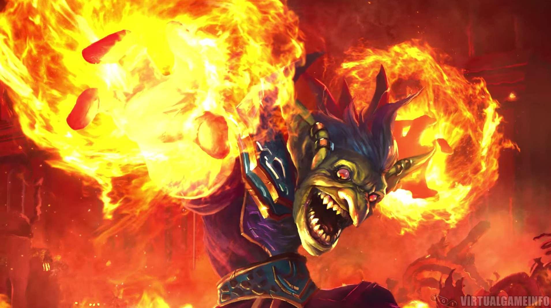 Blizzard сообщила, что в следующем месяце выйдет дополнение к коллекционной карточной игре Hearthstone: Heroes of Warcraft под названием Goblins vs. Gnomes из 120 новых карт.