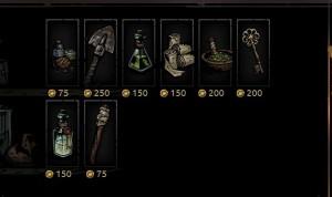 Провизия в игре Darkest-Dungeon