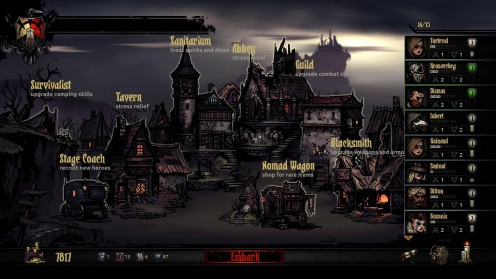 Darkest Dungeon Town