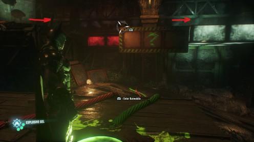 Batman Arkham Knight Месть Загадочника вторая миссия помощи Женщине Кошке