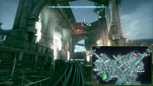 Batman: Arkham Knight Разрушаемые объекты на острове Блик