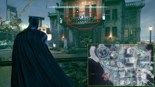 Batman: Arkham Knight остров Основателей Усадьба Кобблпота