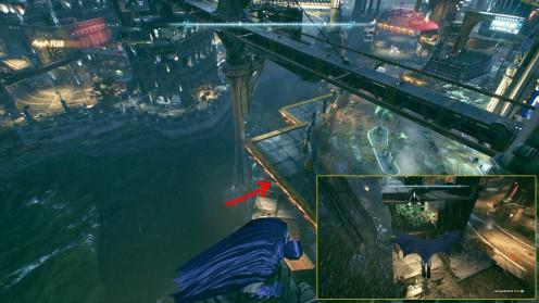 Остров Основателей в Batman Arkham Knight местонахождение трофеев