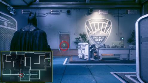 Batman: Arkham Knight Полицейский участок GCPD Трофей Риддлера