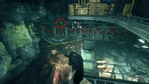 Arkham Knight туннели метро трофеи Риддлера