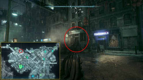Загадка в Чайнатауне в Batman: Arkham Knight.