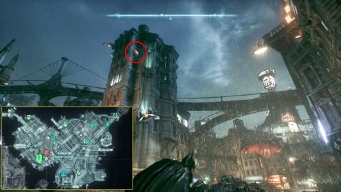 Batman Arkham разрушаемые объекты Готэма-сити
