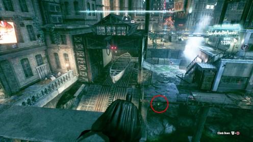Batman: Arkham Knight Остров Блик Трофей Загадочника – Рядом с Часовой Башней