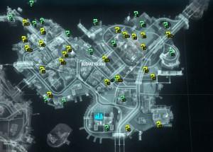 Остров Блик Трофеи Риддлера Карта