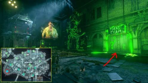 Последнее Испытание Риддлера, Загадка Batman: Arkham Knight