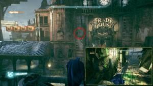 2. На лицевой стороне Торгового Дома / Trade House находится разрушаемая стена за ней лежит трофей