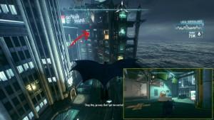 5. На западе острова расположено здания Gotham City Trains, на втором этаже с конца будет расположен трофей.