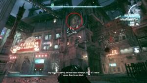 14. На верху стены Gotham Casion справа находится разрушаемая стена, Казино находится недалеко от сточных вод.