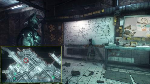Человек Летучая мышь Загадка Риддлера Местонахождение Batman: Arkham Knight
