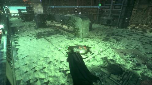 Остров Миагани испытание возле госпиталя Риддлер Batman: Arkham Knight