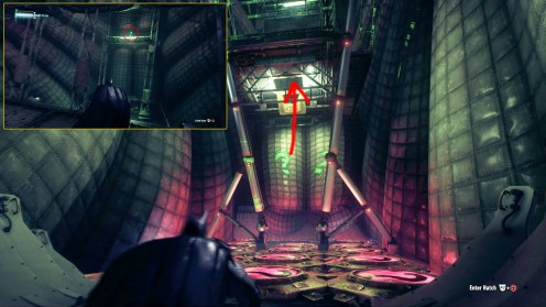 Головоломка с запуском, Дирижабль Стэгга Batman: Arkham Knight