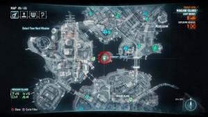 Месторасположение на карте четвёртого испытания Азраила
