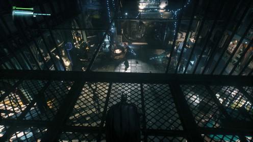 Batman: Arkham Knight Контрабанда оружия третий тайник на складе острова Основателей