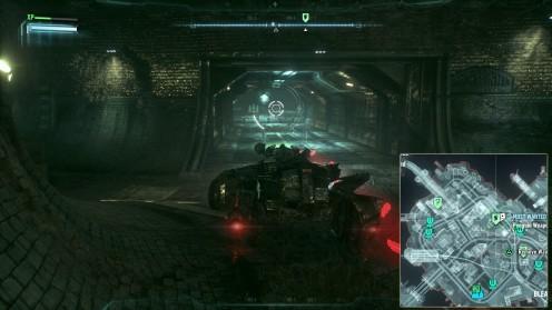 Batman Arkham Knight Водоочистная Станция Готэма Контрабанда оружия местонахождение