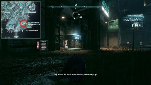 Batman: Arkham Knight месторасположение второго тайника с оружием Sionis Industries