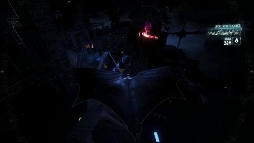 Бэтман Рыцаря Аркхема Месторасположение Летучей Мыши ввести Лекарство