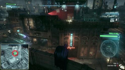 Batman Arkham Knight местонахождение убежище Пингвина