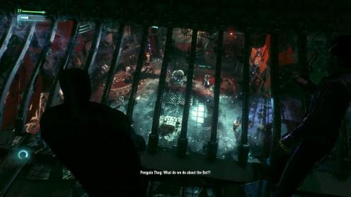 Бэтмен Рыцарь Аркхема секретное убежище Пингвина в мастерской