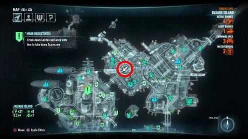 Batman Arkham Knight Первая Жертва Риддлера на острове Блик