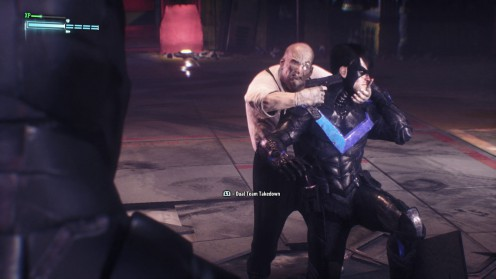 Batman Arkham Knight спасти Найтвинга от Кобблпота тайник оружия