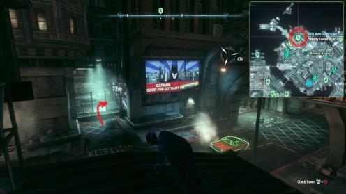 Batman Arkham Knight поиски Лаборатории Доктора Кирка Лангстрома
