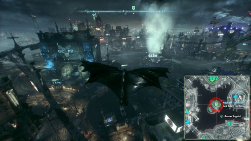 Статуя Леди Готэма Batman: Arkham Knight