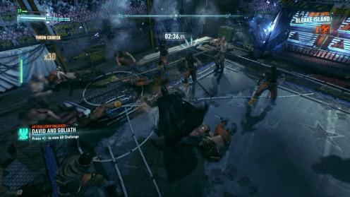 Битва на Арене Жертвенный Агнец Batman Arkham Knight