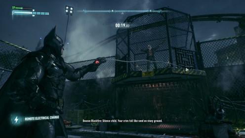 Спасти Джека Райдера на острове Batmna Arkham Knight