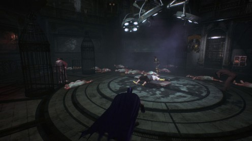 Освобождение заложников в Batman: Arkham Knight Идеальное преступление.
