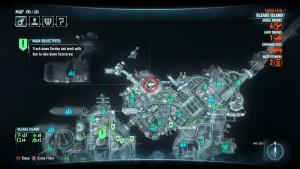 Расположение на карте второй жертвы Загадочника.
