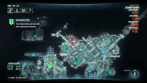 Остров Блик вторая жертва Загадочника в Batman Arkham Knight