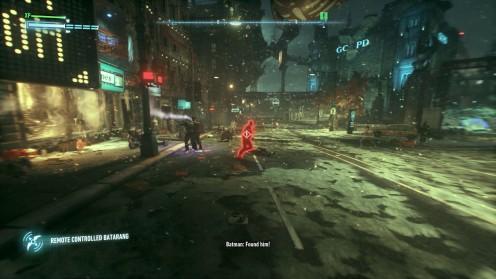 Поиск третей жертвы Риддлера в Batman: Arkham Knight