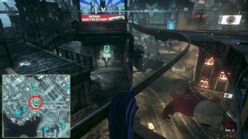 Batman Arkham Knight местонахождение второй жертвы Идеальное преступление Остров Блик