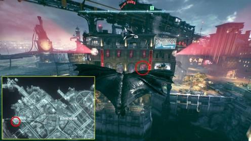 Остров Блик Башня Боевиков Batman: Arkham Knight