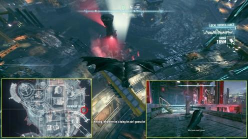 Остров Основателей Доки местонахождение сторожевая вышка боевиков Batman