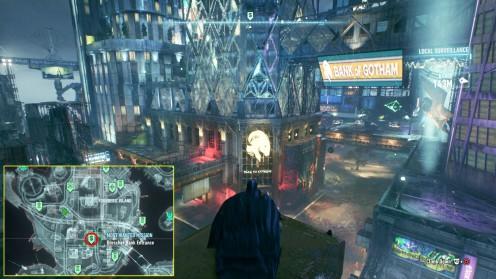 Остров Основателей ограбление банка Batman: Arkham Knight