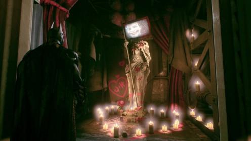 Бэтман Рыцарь Аркхема загадка Риддлера в Панесса Студиос