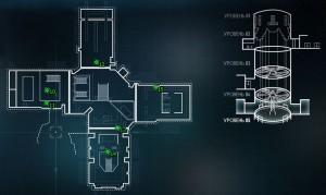 Карта с местонахождением пауков - Штаб-Квартира Рыцаря Аркхема Север