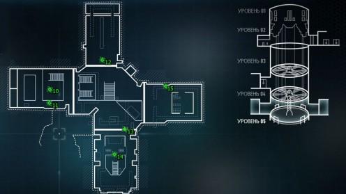 Карта с местонахождением пауков Штаб-Квартира Рыцаря Аркхема Север