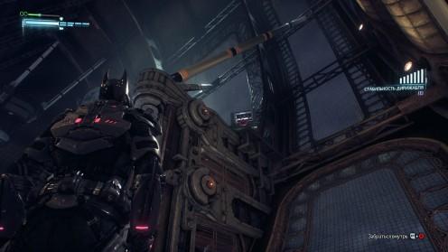 Batman Arkham Knight Разрушаемые Объекты Дирижабли Стэгга
