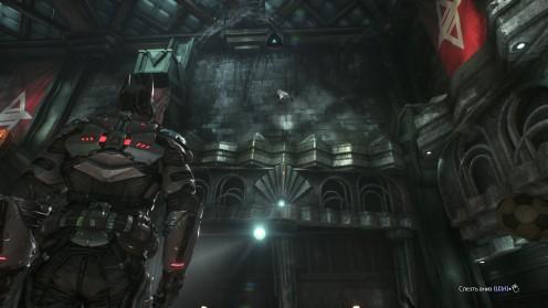Бэтмен Штаб Квартира Рыцаря Аркхема Север Разрушаемые Объекты